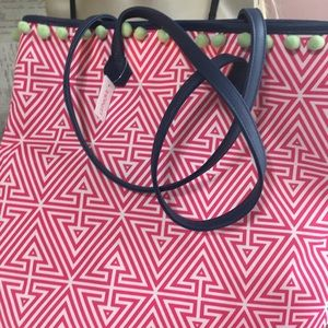Clinique tote by Jonathan Adler